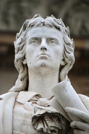 friedrich: Friedrich Schiller monument at the Konzerthaus, Gendarmenmarkt, Berlin-Mitte.