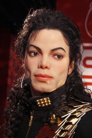 michael jackson: Michael Jackson - wax figure at Madame Tussauds, July 10th 2008, Unter den Linden, Berlin-Mitte. Editorial