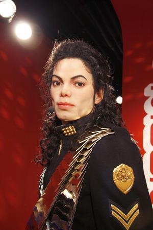 jackson: Michael Jackson - wax figure at Madame Tussauds, July 10th 2008, Unter den Linden, Berlin-Mitte. Editorial