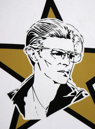 David Bowie in Berlin.