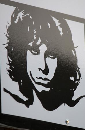 morrison: Jim Morrison, Berlin.