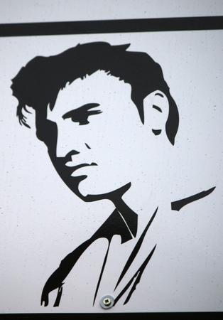 elvis presley: Elvis Presley, Berlin.