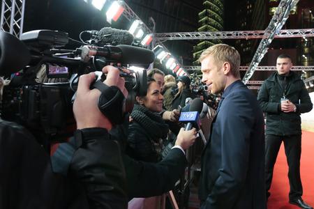 football world cup: Per Mertesacker - premiere of the film by the winning the Football World Cup 2014  The team  Sony Center, November 10, 2014 in Berlin.