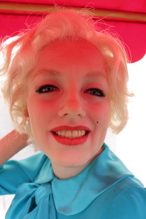 marilyn: Marilyn Monroe, waxworks Madame Tussauds, Berlin-Mitte.