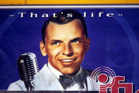 frank: historic Frank Sinatra in Concert, Berlin.