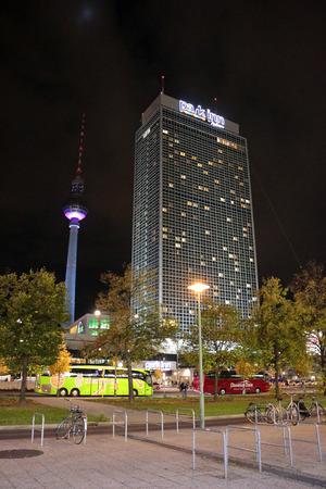 inn: TV Tower, Forum Hotel (today park inn), Berlin-Mitte.
