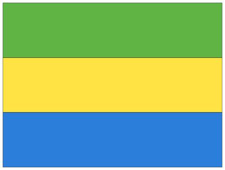 gabon: Flag: Gabon  flag: Gabon.