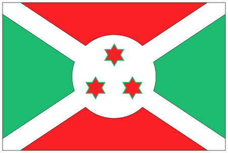 burundi: Flag: Burundi  flag Burundi. Stock Photo