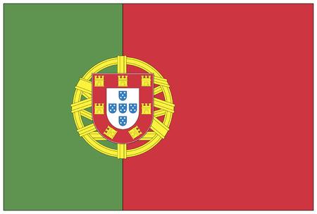 bandera de portugal: Bandera: Portugal  bandera de Portugal.