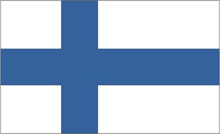 bandera de finlandia: Bandera: Finlandia  bandera de Finlandia. Foto de archivo