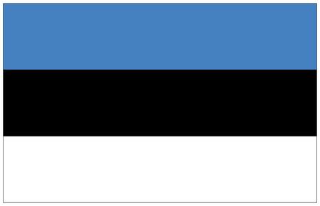 estonia: Flag: Estonia  flag: Estonia.