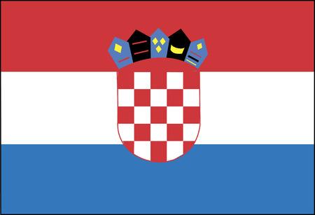 bandera de croacia: Bandera: Croacia  Bandera: Croacia.