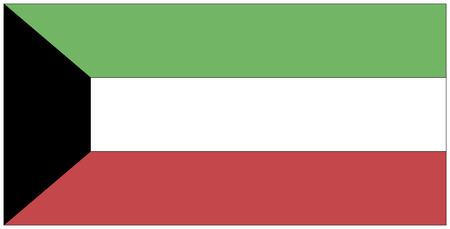koweit: Flag: Kowe�t  drapeau: Kowe�t.
