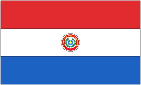 paraguay: Flag: Paraguay  flag Paraguay. Stock Photo