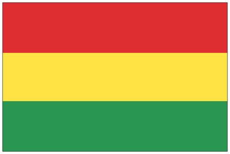 bandera de bolivia: Bandera: Bolivia  bandera de Bolivia. Foto de archivo