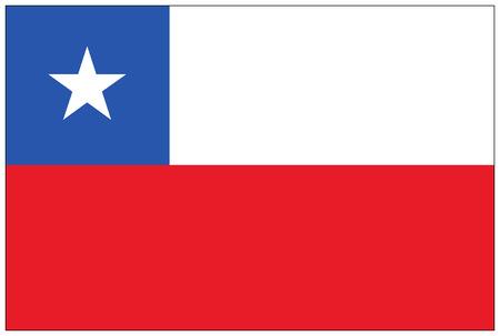 flag of chile: Bandera: Chile  bandera de Chile.