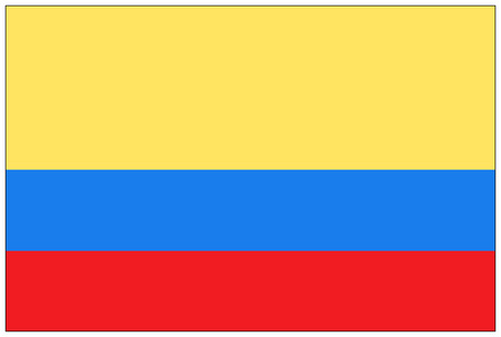 bandera de colombia: Bandera: Colombia  bandera de Colombia.