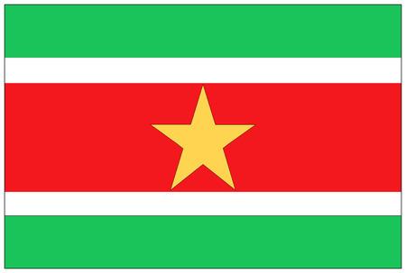 suriname: Vlag: Suriname  vlag Suriname.