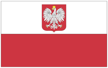 poland flag: Flag: Poland  flag: Poland. Stock Photo
