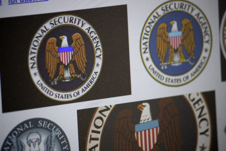 company secrets: Brand Name:  NSA - National Security Agency , December 2013 in Berlin.