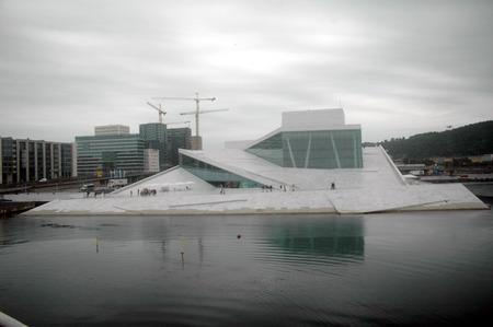 oslo: Impressions - Opera, Oslo, Norway.