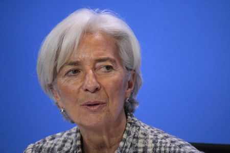 christine: Christine Lagarde - meeting between the Chancellor and the President of international economic and financial organizations, Federal Chancellery, March 11, 2015 in Berlin. Editorial