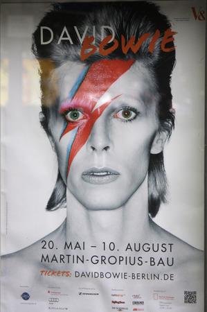 impressions: Impressions - Exhibition David Bowie , Martin Gropius Bau, May 19, 2014 Berlin-Tiergarten. Editorial