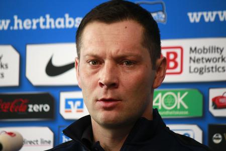 pal: Pal Dardai - presentation of the new coach of Hertha BSC Berlin, February 5, 2015 in Berlin.