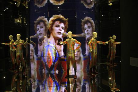 """Impressionen - Ausstellung """"David Bowie"""", Martin Gropius Bau, 19. Mai 2014 Berlin-Tiergarten."""