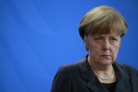 BKin Angela Merkel - Treffen der Bundeskanzlerin mit den irakischen Ministerpräsidenten, der Bundeskanzlei, 6. Februar 2015 Berlin ..