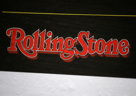 stone: Brand name Rolling Stone.
