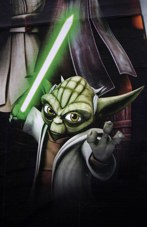"""Yoda"" - Charakter aus Star Wars Editorial"