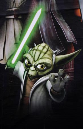 star wars:  Yoda  - character from  Star Wars  Editorial