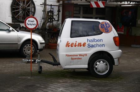spandau: Half car, Berlin-Spandau.