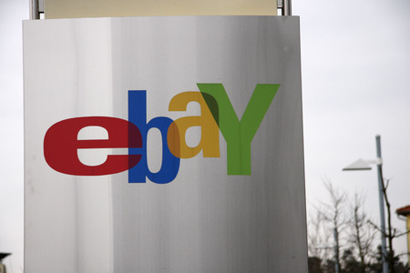 ebay: ebay at the Germany headquarters of the company  Editorial