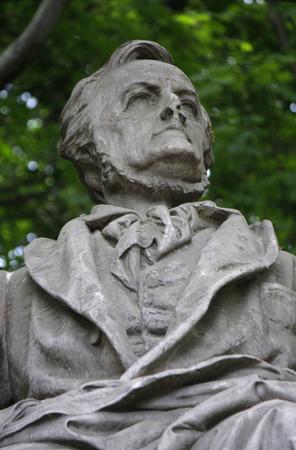 wagner: Richard Wagner Memorial, Berlin-Tiergarten.