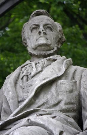 richard: Richard Wagner Memorial, Berlin-Tiergarten.