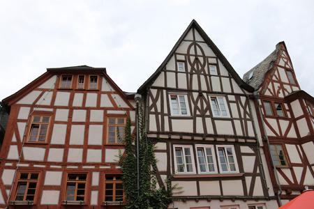 limburg: Fachwerkhaeuser, Limburg, Hesse.