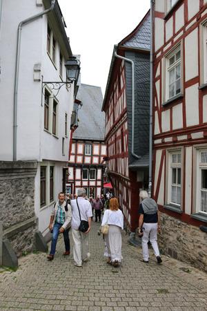hesse: Old Town, Limburg, Hesse. Editorial