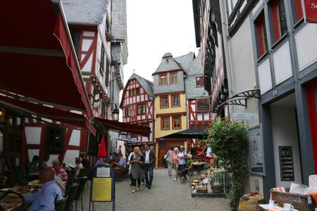 limburg: Old Town, Limburg, Hesse. Editorial