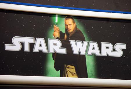 "starwars: Brand names:  ""Star Wars "", Berlin."