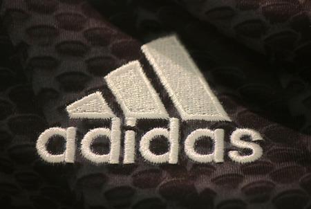 "adidas: Brand names:  ""Adidas "", Berlin."