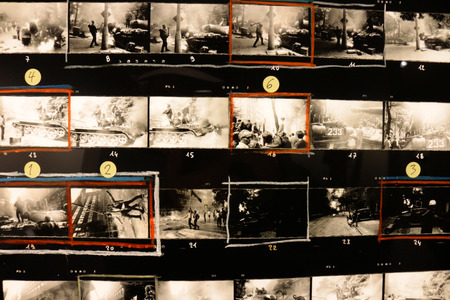 magnum: Impressions: Contact Sheet reopening of the quotco Berlinquot at the Amerika Haus October 29 2014 in Berlin Charlottenburg.