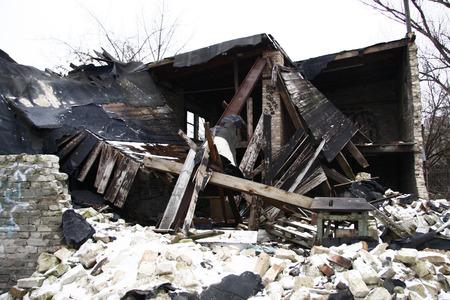 sheds: demolished sheds Berlin Prenzlauer Berg.
