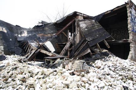 prenzlauerberg: demolished sheds Berlin Prenzlauer Berg.