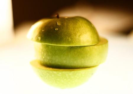 sliced apple: sliced apple sliced apple Symbolic Foods.