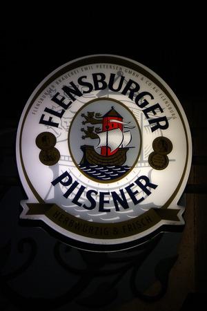 pilsner: Marca: Flensburger Pilsner. Editorial