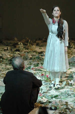 christina: Scene Photo: Christina Drechsler among others theater production Editorial
