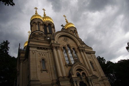 russian orthodox: Russian Orthodox Church Neroberg Wiesbaden.