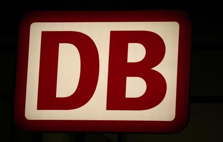 db: Brand Name: DB German Railways Editorial